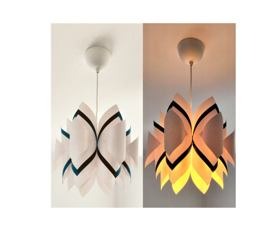 Paper light shades by ATELIER ALEGRE