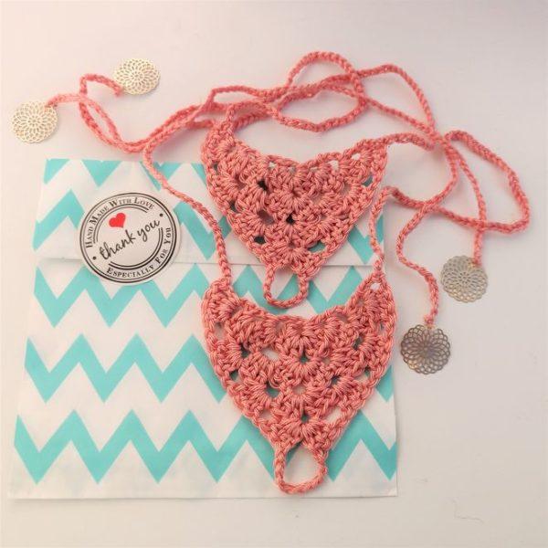Crochet beach sandals ATELIER ALEGRE