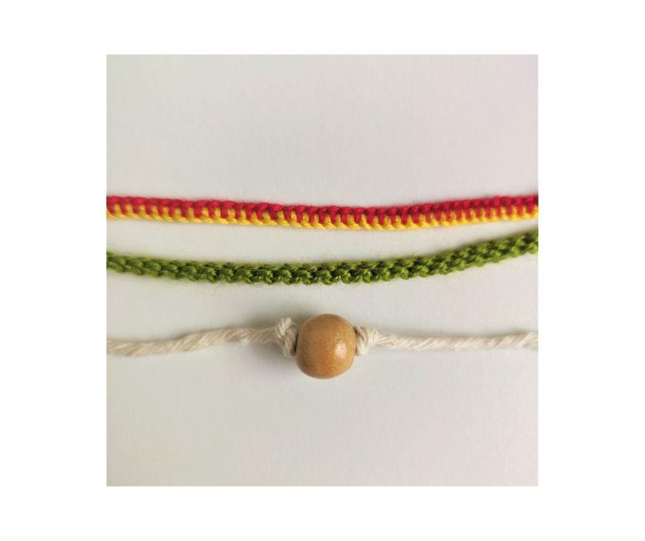 Handmade bracelet by ATELIER ALEGRE